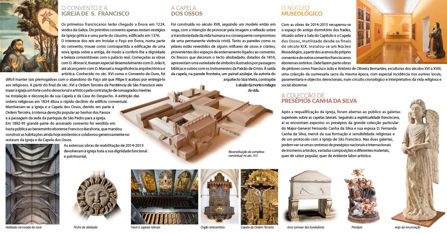 Igreja de S. Francisco folheto PT